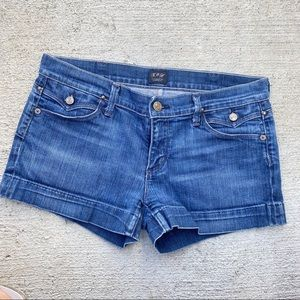 Citizens of humanity blue jean shorts sz 29